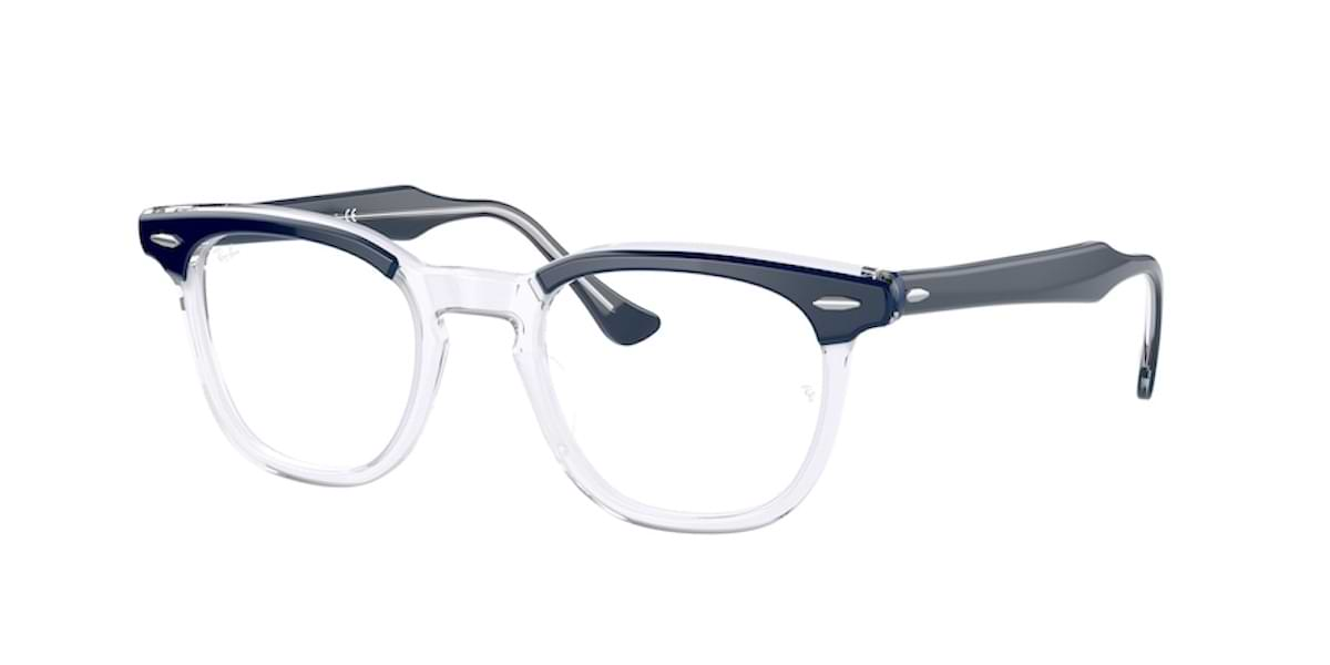 Ray-Ban RX5398 8110 Blue on Transparent