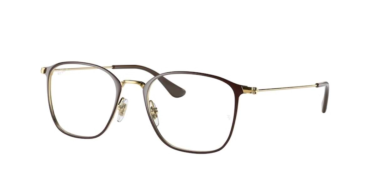 Ray-Ban RX6466 2905 Brown on Arista