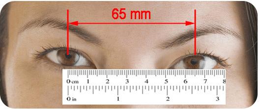 PD - Pupillary Distance